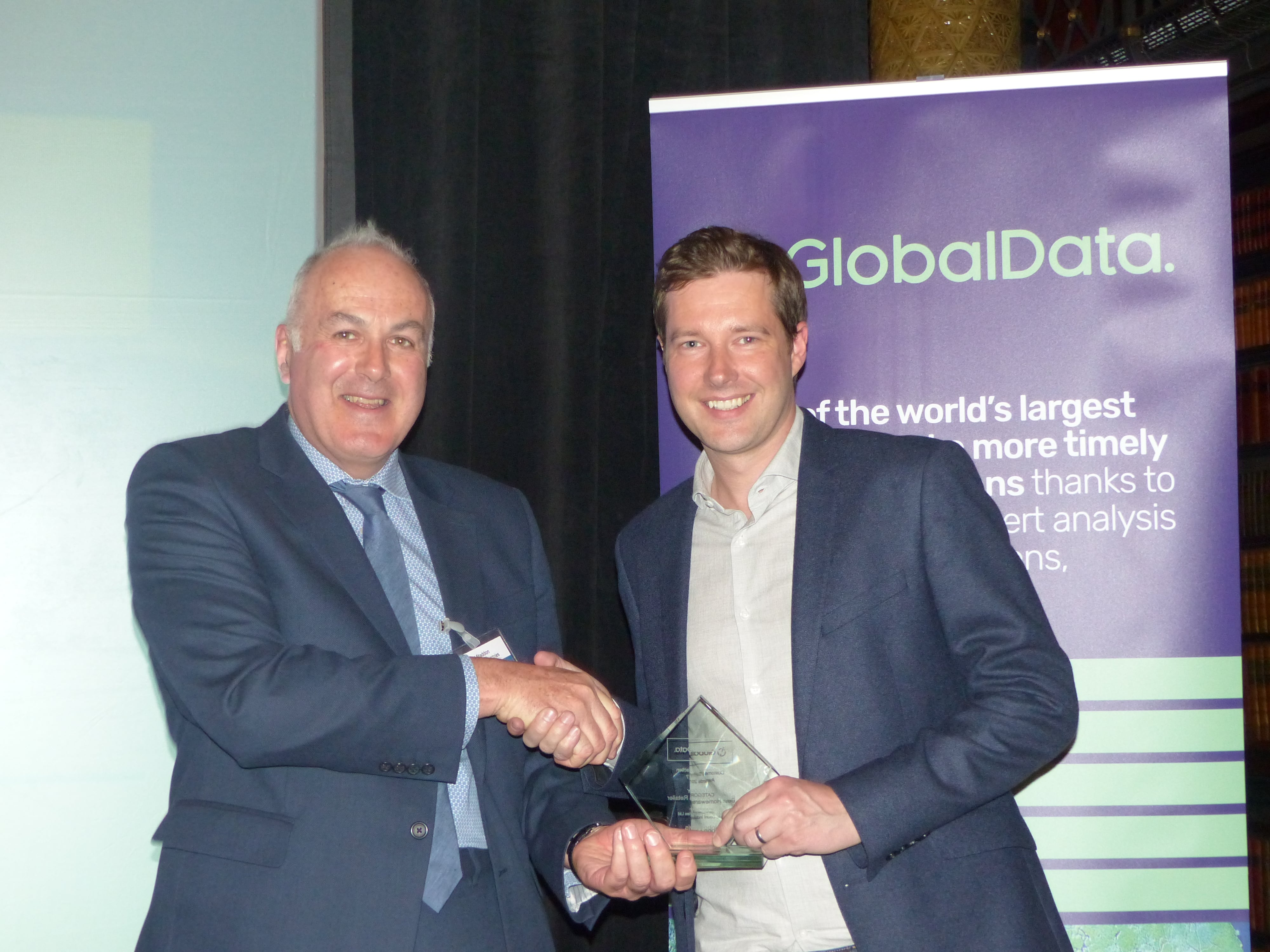 Electricals retailer AO.com named Best UK Retailer at GlobalData's Awards