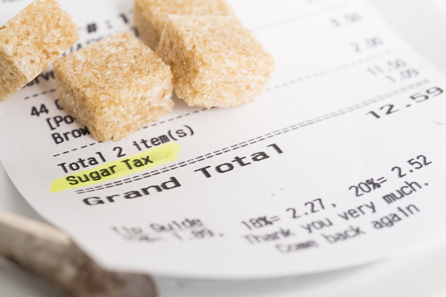Sugar reduction plan goes beyond taxation